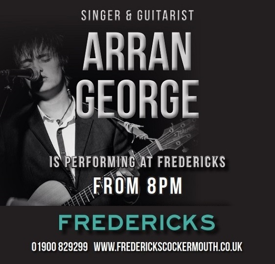 Arran George Live Music at Fredericks